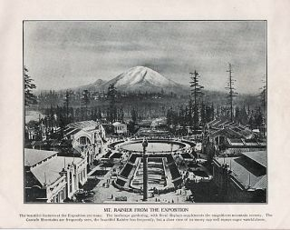 SOUVENIR BOOK OF THE ALASKA-YUKON-PACIFIC EXPOSITION: Official Photographic Views [cover title]: Seattle, USA, June 1st - October 16th, 1909.