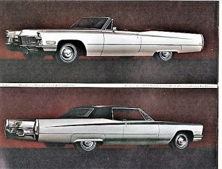 1968 CADILLAC: Salesroom Booklet. General Motors