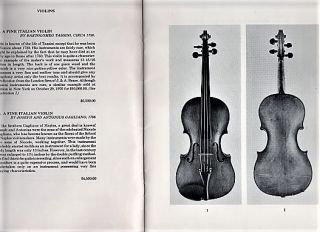 THE WICHITA VIOLIN SHOP: A CATALOGUE OF FINE STRINGED INSTRUMENTS, 1977.