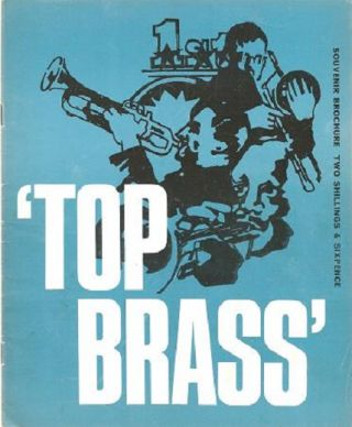 "HAROLD DAVISON PRESENTS ""TOP BRASS"": Featuring Maynard Ferguson and his Anglo-American..."