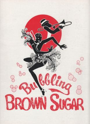 "Cab Calloway in ""Bubbling Brown Sugar,"" a New Musical Revue. BUBBLING BROWN SUGAR"