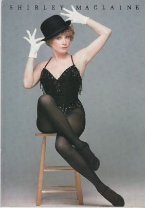 SHIRLEY MACLAINE ON BROADWAY. Original Music & Lyrics by Marvin Hamlisch and Christopher Adler....