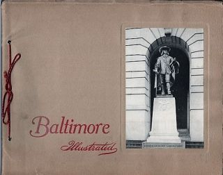 BALTIMORE ILLUSTRATED. Baltimore Maryland