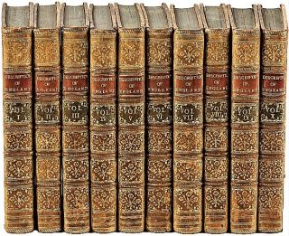 A DESCRIPTION OF ENGLAND AND WALES. Containing a particular Account of each County, with its...