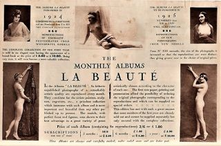 PREMIER CATALOGUE D'EDITIONS THEATRALES & ARTISTIQUES: ALBUMS & PHOTOGRAPHIES DE GRAND LUXE.