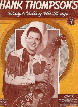 HANK THOMPSON'S BRAZOS VALLEY HIT SONGS, No. 1 and No. 2. Hank Thompson