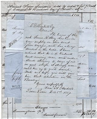 ARCHIVE: HANDWRITTEN LETTER, SIGNED, FROM PRAM PRAM [ACCRA, GHANA], ALONG WITH FIVE (5) OTHER...