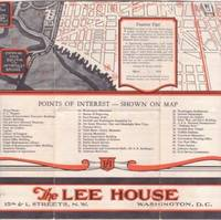 THE LEE HOUSE ... REDUCED SUMMER RATES ... WASHINGTON, DC:; Room for Two Persons, $3.50-$4.00 ......