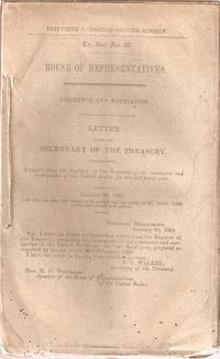 COMMERCE AND NAVIGATION:; Letter from the Secretary of the Treasury transmitting a report ......