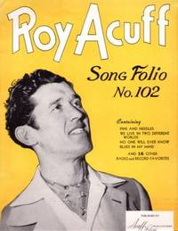SONG FOLIO NO. 102. Roy Acuff