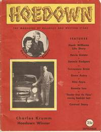 HOEDOWN, Vol. I, No. 1:; The Magazine of Hillbilly and Western Stars. Thurston Moore